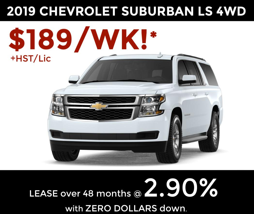 2019 Chevrolet Suburban: 2019 Chevrolet Suburban @ Larry Hudson Chevrolet Buick GMC ON
